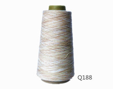 Q188  T21S竹节纱段染