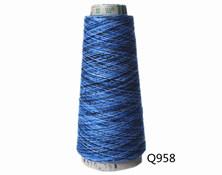 Q958  C32S/2段染纱