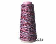Q168  C32S/2段染纱