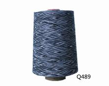 Q489  C32S段染纱