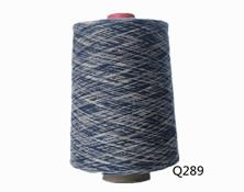 Q289  C16S段染纱