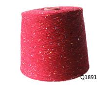 Q1891 全棉彩点纱10S