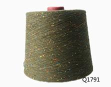 Q1791 全棉彩点纱10S