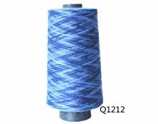 Q1212 T30S竹节段染纱