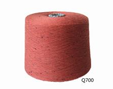 Q700 全棉彩点纱32S